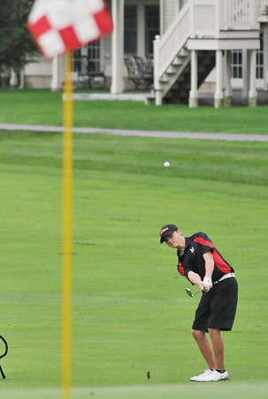 Danvers:  Marblehead High School golfer Connor Green photo by Mark Teiwes  / Salem News