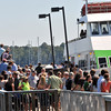 Salem: Arriving and departing passengers pack the dock of Salem Ferry Sunday afternoon.   photo by Mark Teiwes / Salem News