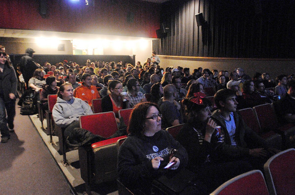 Salem: Cinema Salem shows a Lost Episode on the big screen to a packed out audience. photo by Mark Teiwes / Salem News