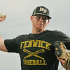 Peabody:   Bishop Fenwick senior pitcher Mike Davis, threw the second no hitter of his high school career last weekend.  photo by Mark Teiwes / Salem News