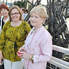 Salem: Historic Salem Inc. had its annual fundraiser aboard the Friendship. Pictured from left: Mary Ellen Delaney, Marie Brescia, Julie Rose, President of HSI, and Maryann Curtin.   photo by Mark Teiwes / Salem News