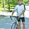 Peabody: Tom DesFosses, a survivor of a malignant brain tumor, hosts his fourth annual A Reason To Ride bike-a-thon, which will be held in Danvers on Sept. 18 to support Beth Israel Medical Center. He is looking for riders for the 10-mile, 25-mile and 50 mile routes.  photo by Mark Teiwes / Salem News