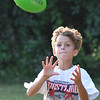 Salem:   Jaxon Thomas, 7, of Salem makes a catch.  photo by Mark Teiwes / Salem News
