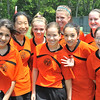 Hamilton: The U-14 F.C. Gold Pride of Beverly team played at the Essex Country Youth Soccer playoffs. photo by Mark Teiwes / Salem News