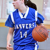 Boxford: Danvers Sarah Palazola looks for a pass..  photo by Mark Teiwes  / Salem News