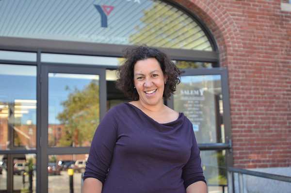 Salem: Mari Matt is the new executive director of the Salem YMCA branch.  photo by Mark Teiwes /  Salem News