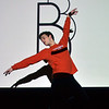 Marblehead: Scenes: Robby Kretz of the Boston Ballet warms up before a performance.  photo by Mark Teiwes / Salem News