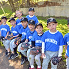 Salem: The Panthers are on the bench ready for a farm league game. photo by Mark Teiwes / Salem News