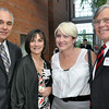 Salem: Joe Correnti, left, chairman of the Salem Partnership, Terri Correnti, Abby Atkins, and George Atkins, President of the Salem Partnership attended the Salem Partnership's annual dinner. photo by Mark Teiwes / Salem News