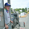 Harry Barton is retiring after working at Moynihan lumber for 57 years.  photo by Mark Teiwes / Salem News