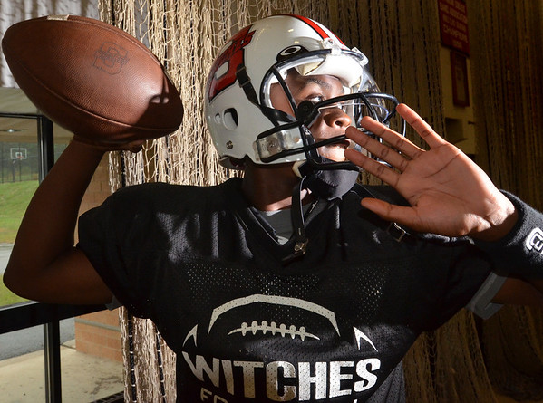 Salem: Salem's starting quarterback is junior Christian Dunston.  photo by Mark Teiwes  / Salem News