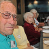 Danvers: E. Pappy Papamechail attended the Danvers High School Class of 1936 75th reunion.   photo by Mark Teiwes / Salem News