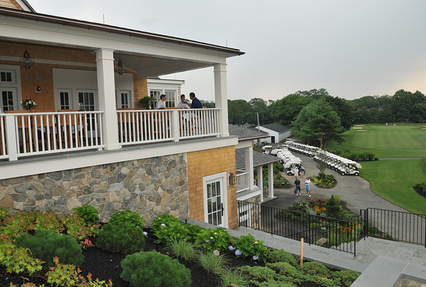 Marblehead: The Tedesco Country Club just finished building a new $13 million clubhouse. The Paul Hannaway Memorial Golf Classic is the first group to be able to use it.  photo by Mark Teiwes / Salem News