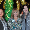 Beverly: Pictured from left, Cynthia Montalvano, Fran Dichner of R & L Associates, and Dianne Palter Gill of North Shore Community College, at the Lynch Park carriage house for the Beverly Chamber of Commerce's annual fall event.  photo by Mark Teiwes  / Salem News