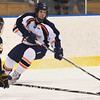Salem: Salem State's Kyle Phelan looks to the goal defended by University of Southern Maine's Sean Travis.  photo by Mark Teiwes / Salem News