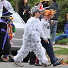 Beverly: Sam Titus, 10, center, is dressed as a wolf in sheep's clothing.  photo by Mark Teiwes / Salem News