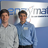 Beverly: Beverly natives Stephen Picone, left, and Christopher Benoit are the founders of Enzymatics, a rapidly growing protein manufacturer.  photo by Mark Teiwes / Salem News