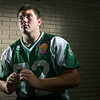 Zach Nardone is playing in the Shriner's Allstar Football classic game  photo by Mark Teiwes / Salem News
