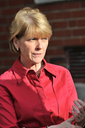 Salem: Attorney General Martha Coakley is running for re-election .    photo by Mark Teiwes / Salem News
