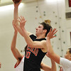 Salem: Marblehead's Matt Temme jumps for a two-pointer against Salem. photo by Mark Teiwes / Salem News