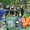 "Beverly: Members of the Rebel Shakespeare Company perform ""The Taming of the Shrew"" on the Beverly Common.  photo by Mark Teiwes /  Salem News"