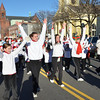 Beverly: The North Shore Dance Academy performs at the Beverly holiday parade. photo by Mark Teiwes / Salem News