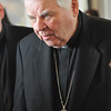Danvers: Bishop John M. D'Arcy, St. Mary's parish priest from 1957-1965 was honored at the church's Legacy Gala.  photo by Mark Teiwes / Salem News