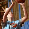 Peabody: Peabody Basketball Association player Emily Diezemann, 14, makes a layup.   photo by Mark Teiwes / Salem News
