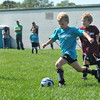 Peabody Youth Soccer athletes play at the Higgins School fields.