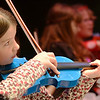 "Beverly: Catherine Johnson performs ""Jolly Old St. Nicholas"" with the Beginner Strings ensemble at the Beverly Public Schools Winter orchestra concert.    photo by Mark Teiwes / Salem News"