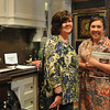 Wenham: Erin Parsons, left and her mother Kim came to the Wenham Museum to take a look at the interior design galleries. photo by Mark Teiwes / Salem News
