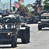 Swampscott: Military machinery was paraded through Swampscott of the Veterans Appreciation Day parade  photo by Mark Teiwes / Salem News