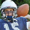 Peabody: Peabody High School quarterback Jason Hiou.  photo by Mark Teiwes / Salem News