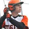 Ipwich: Ipswich High School baseball player Dylan Cain. photo by Mark Teiwes / Salem News