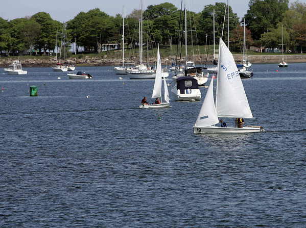 Beverly: Beverly High School sailing team.   photo by Mark Teiwes / Salem News