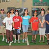 Salem American Little League all-stars team practices at the Hit Zone in Swampscott.  photo by Mark Teiwes / Salem News
