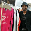 "Peabody: Fashion designer Bless Mazarura, Montserrat alumni showed off his line of clothes called ""Bless by Bless"" at the North Shore Mall's fashion event called 'Fall"" in Love with Fashion."