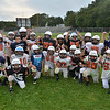 Beverly:  The 3rd and 4th graders make up the Crusader White team. photo by Mark Teiwes /  Salem News