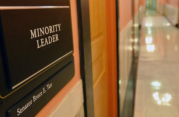 Boston: Senator Bruce Tarr is the state senate minority leader.  photo by Mark Teiwes  / Salem News