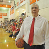 Ipswich: Masconomet girls varsity basketball coach Bob Romeo. photo by Mark Teiwes / Salem News