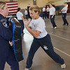 Danvers: training to be jail guards at Middleton Jail photo by Mark Teiwes / Salem News
