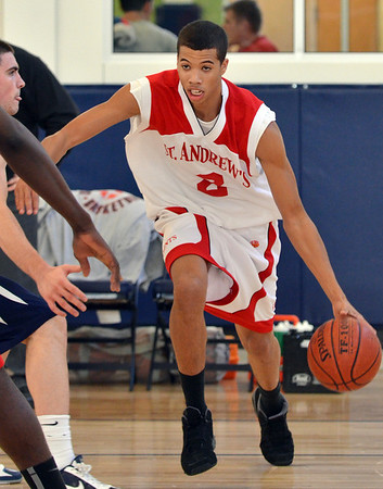 Beverly: Michael Carter-Williams, of Hamilton, plays basketball for St. Andrew's of Rhode Island.  He has already signed his leader of intent to play Division 1 basketball at Syracuse University next year.