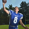 The Danvers High School Football quarterback is Paul Nicolo.  photo by Mark Teiwes / Salem News