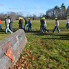 Hamilton: A team of Gabe's Run volunteers walk the course. photo by Mark Teiwes / Salem News