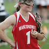 Ipswich:  Masconomet girls varsity lacrosse captain Courtney Cliffe.  Mark Teiwes / Salem News