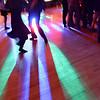 Salem: Syd Rhodes, left, and Jaiden Deschene hit the dance floor during the Salem High School Junior/Senior Catillion.  photo by Mark Teiwes / Salem News