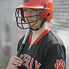 Beverly:  Beverly softball player Monica Cassola.  photo by Mark Teiwes