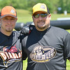 Hamilton: The Golden Stick Wiffle Ball League organizers are Lou Levesque of Hamilton, left, and Adam Trotta of Milford.  photo by Mark Teiwes / Salem News