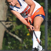 Salem: Salem State's Lauren Pazdziorny of Middleton shoots to score the first goal of the game.  photo by Mark Teiwes / Salem News