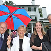 Danvers: Pictured from left, Alden and Lois Goodnow, Laura Ashe and Orville Giddings at the Baron Mayer Award champagne reception. photo by Mark Teiwes / Salem News